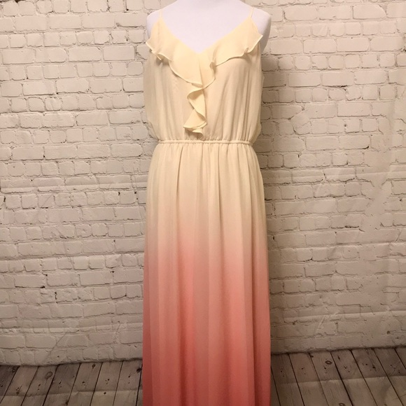 LC Lauren Conrad Dresses & Skirts - Lauren Conrad Long Ombré Dress